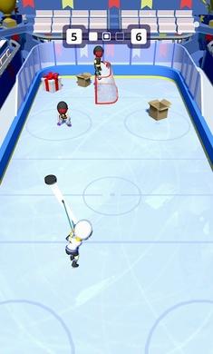 欢乐冰球无限金币破解版