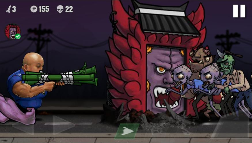 警察VS僵尸游戏安卓版