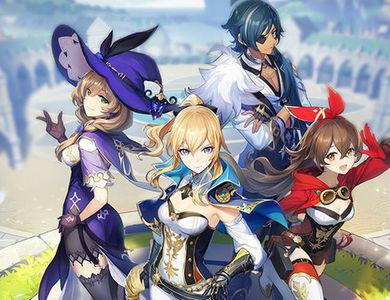 原神 全新开放世界冒险游戏