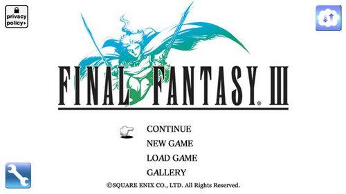 最终幻想3安卓版