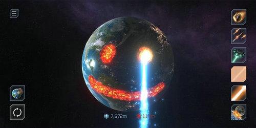 星球爆炸模拟器游戏