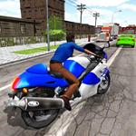 摩托赛车游戏
