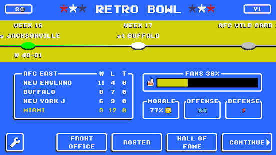 Retro Bowl中文版