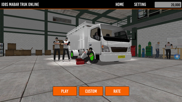 IDBS马巴尔卡车模拟下载