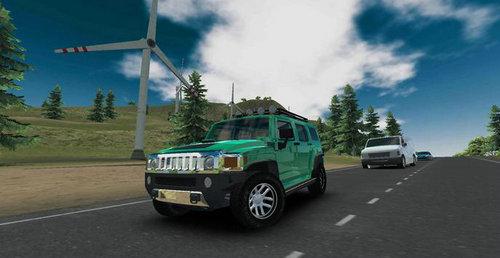 美国豪华车模拟