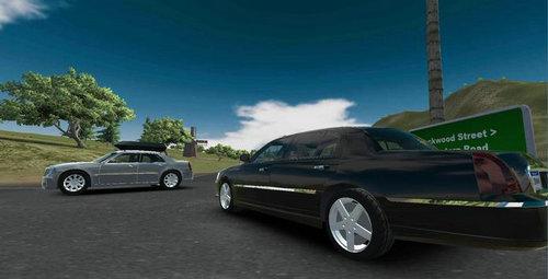 美国豪华车模拟游戏