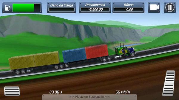 卡车爬坡比赛游戏汉化版