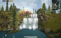 和平精英山谷地图瀑布、花海在哪里 和平精英山谷四大风景区位置介绍