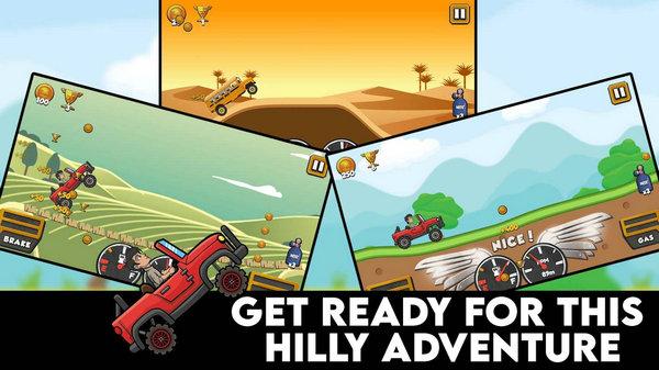 越野山赛车游戏