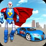 飞行英雄机器人车游戏