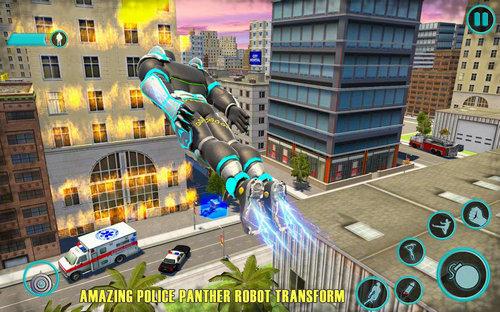 飞豹机器人英雄