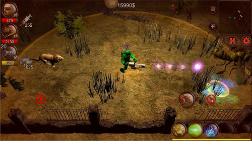 英雄射手僵尸世界猎人无限金币版