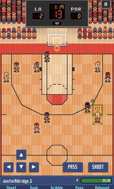 篮球联赛战术