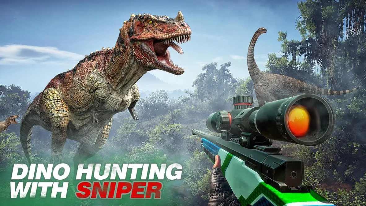 野生恐龙射击冒险下载