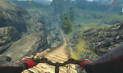 真实山地自行车游戏
