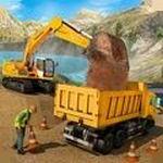 泥沙挖掘机游戏