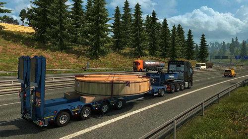 欧洲卡车货运驾驶