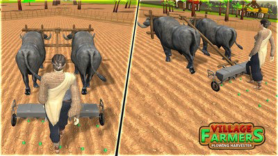 农业耕犁模拟器