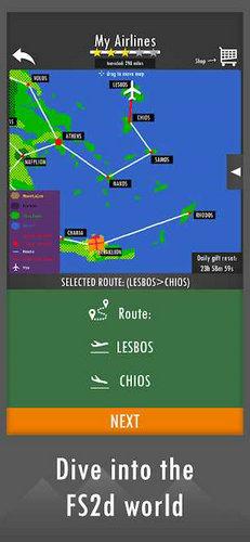 飞行模拟器2D真实沙盒模拟下载