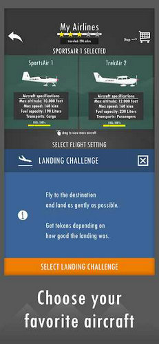 飞行模拟器2D真实沙盒模拟游戏
