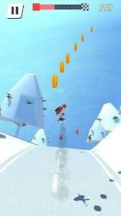 滑板蜿蜒的道路下载