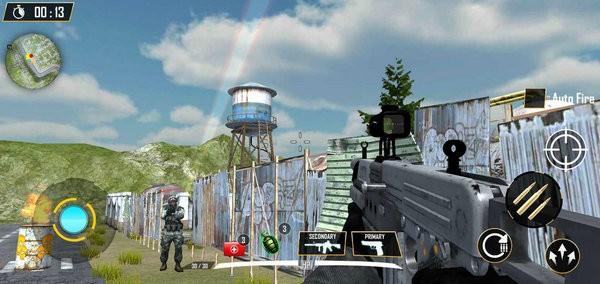 现代特种兵FPS生存游戏