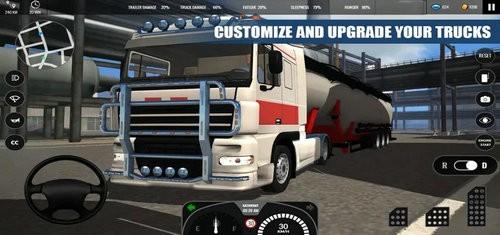 欧洲卡车模拟器下载