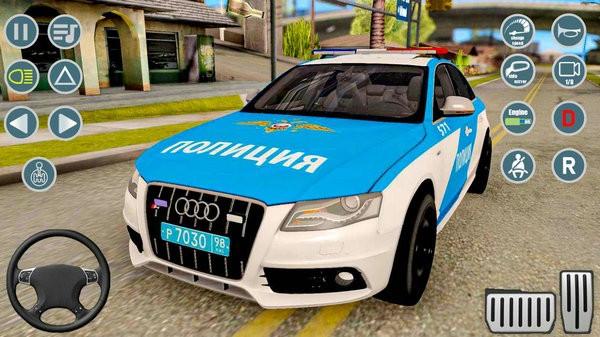 警察超级跑车游戏下载