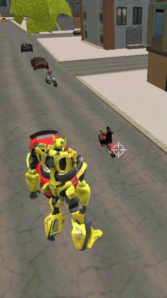大黄蜂变形跑车机器人游戏下载