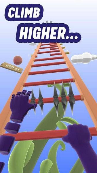 爬上梯子游戏