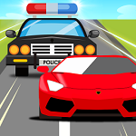 警察大战小偷像素游戏