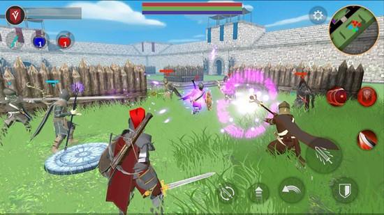 战斗魔法法术和剑手机版