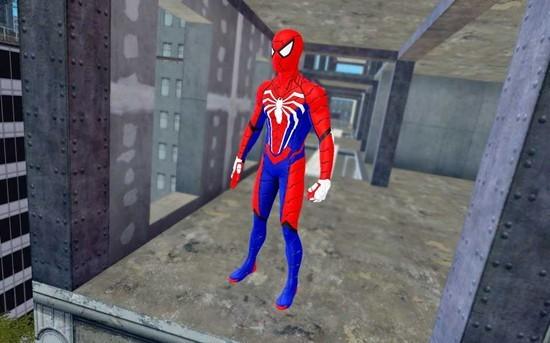 蜘蛛英雄战斗歹徒绳之战犯罪城安卓版