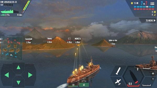 战斗军舰解锁全军舰最新版