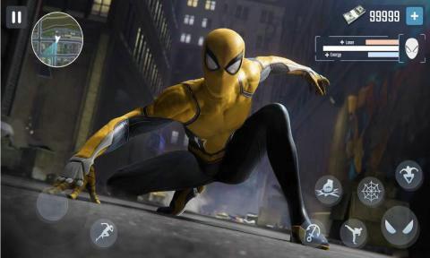 超级蜘蛛侠城市之战无限金币版