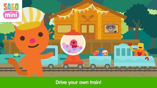 西米迷你火车冒险游戏最新版