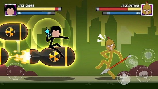 棒打超级英雄无限金币版