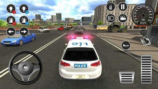 警车游戏模拟2021中文版下载