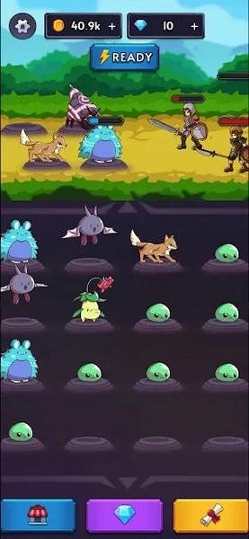 怪物VS猎人合并空闲RPG