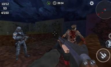 僵尸3D生存无限金币破解版
