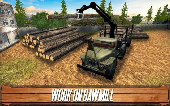 锯木厂司机模拟游戏安卓版