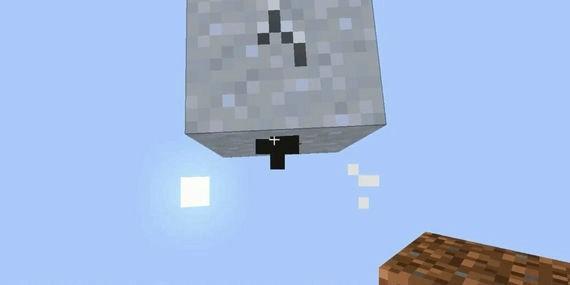 单方块生存
