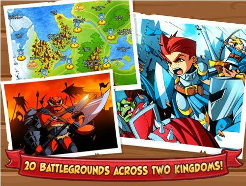 城堡攻击游戏中文版