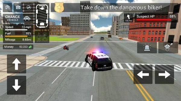 警车巴士模拟器