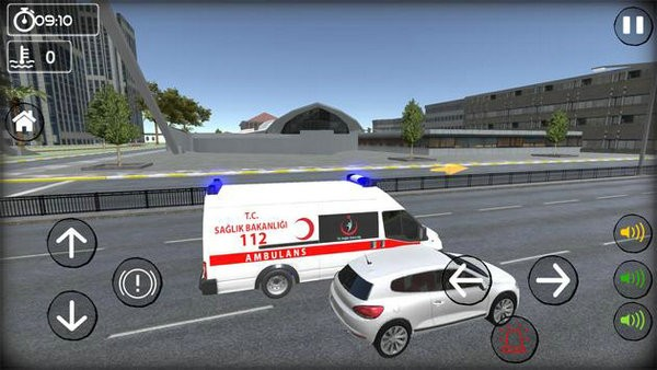 救护车模拟器无限金币版安卓下载