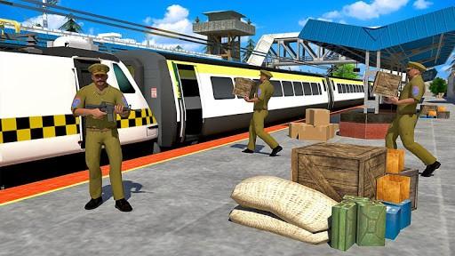 警察火车模拟器