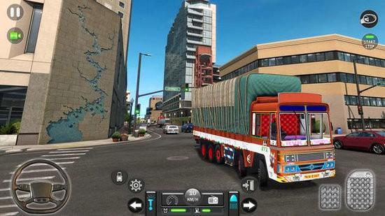 新印度人货物卡车模拟器中文版