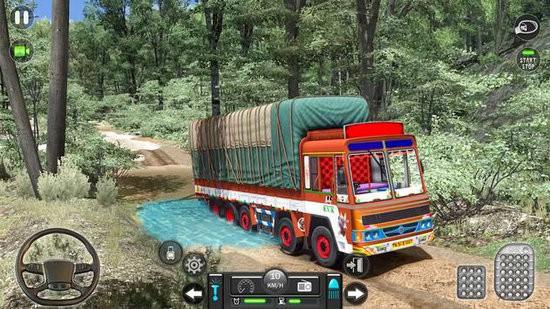新印度人货物卡车模拟器手机版下载