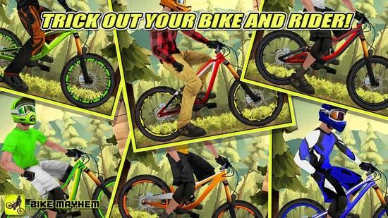 山地自行车赛游戏下载
