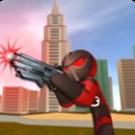在奔跑火柴蜘蛛侠英雄